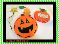 CUTE pumpkin activities from The Bubbly Blonde
