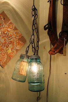 mason jar light. www.heroscardww.com