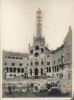 Barcelona, hospital de Sant Pau 1902-1909