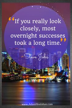 I needed to read this today! It takes time, commitment and perseverance. #NoSleepTillSuccess