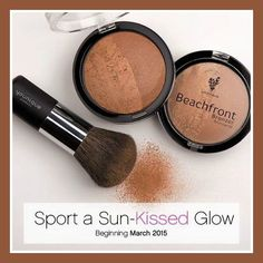 Beachfront Bronzer for the perfect sun kissed glow!