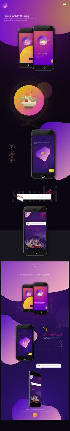 Food App on Behance