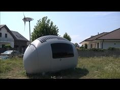 "Mobile Home of Future? Slovak architects develop completely self-sustaining home dubbed ""Ecocapsule"" - YouTube"