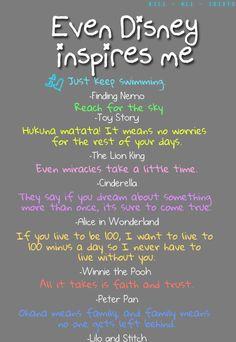 Disney inspirations.