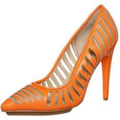 Czółenka Gx By Gwen Stefani - Zalando Platform Stilettos, Stiletto Pumps, High Heel Pumps, Pumps Heels, Gwen Stefani, Vegan Shoes, Peep Toe, Footwear, Orange