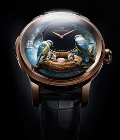 Jaquet Droz создают «живые» произведения часового искусства - 26 Декабря 2012 - Профессиональный журнал о парфюмерии и моде
