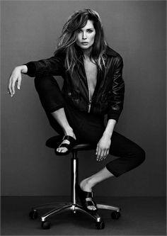 Rock 'n' Roll Style ☆ Erin Wasson for Frame Denim - Vogue.it