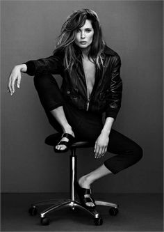 Rock 'n' Roll Style ☆ Erin Wasson for Frame Denim - Vogue.it