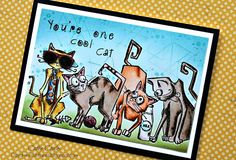 Daydreams In Paper: Stampers Anonymous Crazy Cats