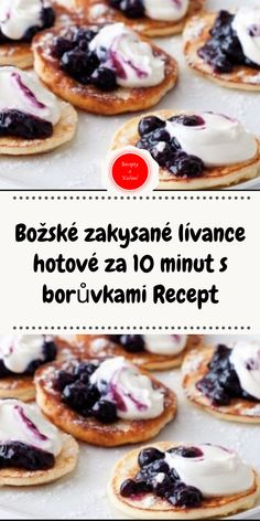 Sweet Desserts, Sweet Recipes, Czech Recipes, Ethnic Recipes, Good Food, Yummy Food, Easy Homemade Recipes, A Table, Baking Recipes