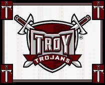 Troy University Tapestry Afghan