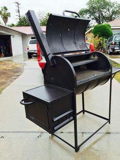 Mad bear  bbq  grills , 55  gallon  drum  smoker Bbq Bar, Barbecue Grill, 55 Gallon Drum Smoker, Oil Drum Bbq, Backyard Bbq Pit, Bbq Stand, Diy Smoker, Bbq Thermometer, Brick Bbq