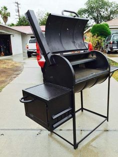 Mad bear  bbq  grills , 55  gallon  drum  smoker