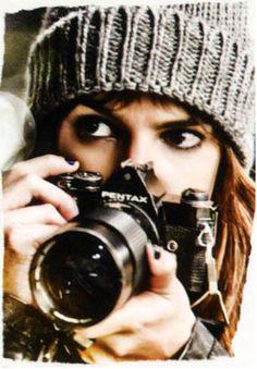 Cristina y sus fotos