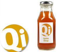 Quitte Sirup als lecker fruchtiger Sirup für Getränke oder Süßspeisen. Nur natürliche Zutaten, keine Farb- oder Aromastoffe. Vegan.