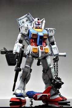 Perfect Grade PG Gundam (by Gundam Guy) Photo 5 Real Robots, Big Robots, Battle Bots, Big Battle, Gundam Toys, Gundam Art, Japanese Robot, Transformers Autobots, Gundam Mobile Suit