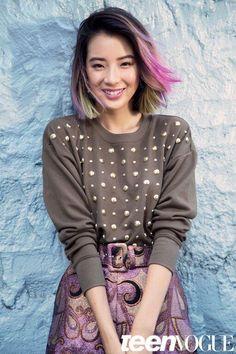 Get To Know Korea's Rainbow-Haired Beauty Muse Irene Kim