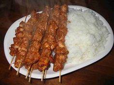 Shish Taouk - Lebanese Chicken Skewers Recipe