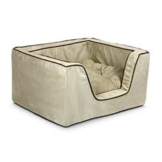 Special Offers - Snoozer Luxury Square Pet Bed Medium Buckskin/Java - In stock & Free Shipping. You can save more money! Check It (July 31 2016 at 11:27AM) >> http://doghousesusa.net/snoozer-luxury-square-pet-bed-medium-buckskinjava/