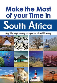 Make the Most of your Time in South Africa (ePDF) -- MapStudio South Africa Tourist Attractions, Books, How To Make, Libros, Book, Book Illustrations, Libri