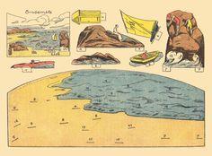 Il favoloso mondo di carta di Totò: In riva al mare