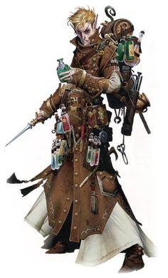 Bramblewine Dungknuckle the Elf Alchemist (The Jade Avatar)