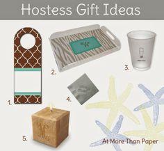 Hostess Gift Ideas #entertaining #hostessgifts