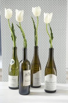 20 Ideas of How to Recycle Wine Bottles Wisely