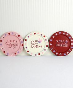 Valentines Day Plates