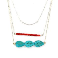 Lovewell Tribal Trio Midi Necklace at The Paper Store