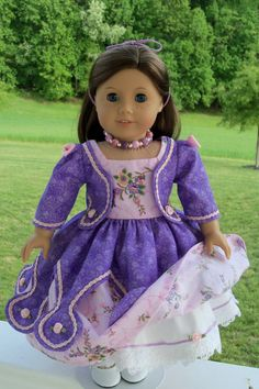 PDF Pattern for American Girl Doll / Historical von Farmcookies