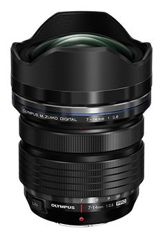 Olympus 7-14 mm M.ZUIKO Digital ED 1:2.8 Pro Lens - Black