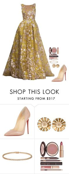 """Untitled #489"" by h1234l on Polyvore featuring RALPH & RUSSO, Christian Louboutin, Cartier, Charlotte Tilbury, women's clothing, women, female, woman, misses and juniors"