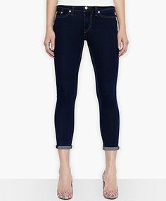 Levi's® Juniors' Cropped Skinny Jeans