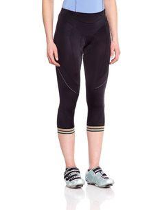 Gore Bike Wear Women's Power 3.0 Lady 3/4+ Tights, Black, Large Gore Bike Wear - $42.95