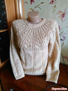 Diy Crafts - knitting,pullover-Perfect Crochet Women Sweaters from 55 of the Magical Crochet Women Sweaters collection is the most trending fashion ou Baby Knitting Patterns, Knitting Designs, Crochet Patterns, Cable Knitting, Free Knitting, Knitting Needles, Crochet Woman, Knit Crochet, Diy Crafts Knitting