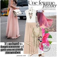 The Romantic Skirt by netrobe on Polyvore featuring polyvore fashion style Lanvin See by Chloé Zara Carven NARS Cosmetics Chanel