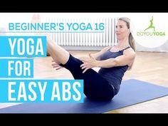 Yoga for Easy Abs - Session 16 - Yoga for Beginners Starter Kit