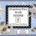 Get your students excited about idioms with this 35 page creative unit!