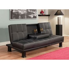 Abbyson Living Signature Convertible Sofa   Overstock™ Shopping   Great  Deals On Abbyson Living Futons Part 30