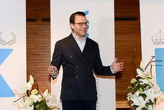 kungahuset.se: Prince Daniel spoke to the press following the announcement that his wife Crown Princess Victoria has given birth to their second child, a boy, born Wednesday March 2, 2016, at 8:20pm Swedish Time; the baby, born at Karolinska Hospital, Stockholm, is third in line to the Swedish throne following his mother and sister, Princess Estelle. Both mother and son are in good health. The little prince's name will be announced on Thursday.