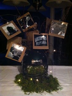 Lacrosse Centerpieces | Classy football banquet centerpiece Football Locker Decorations, Football Centerpieces, Banquet Decorations, Banquet Ideas, Football Decor, Football Team Spirit, Football Cheer, Football Stuff, Football Homecoming
