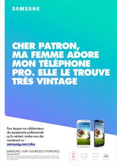 Samsung #electronics #advertising #print