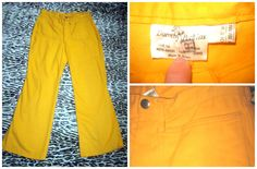 http://www.ebay.co.uk/itm/ACE-FUNKY-VINTAGE-1970S-BRIGHT-YELLOW-FLARES-HIGH-WAIST-TROUSERS-28-034-WAIST-/151628176149?