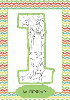 """Memorización de los Artículos de Fe : """"NOSOTROS creemos en Dios el Eterno Padre, y en su Hijo Jesucristo, y en el Espíritu Santo."""""""