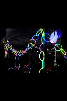 Glow sticks for decoration http://www.bostonparentspaper.com/