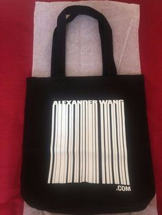 "Alexander Wang ""White/Grey/Black"" Tote Bag for Sneakers - Limited Edition"