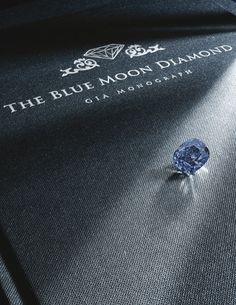 'The Blue Moon'<br /><br />An exceptional Fancy Vivid Blue diamond ring Jewelry Auctions, Blue Moon, Colored Diamonds, Diamond Rings, Natural Gemstones, Fancy, Jewels, Rocks, Bling