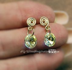 Stud earrings are an important staple in any jewelry wardrobe. If you've hesitated to make your own because you thought they were too difficult, think again. It's easy with these instructions!