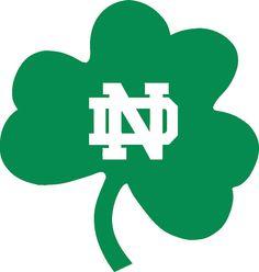 Notre Dame Fighting Irish wall car Logo Sticker by VinylCreator, $9.99